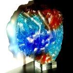 Moderne kunst en glas design 'Geborgenheid, saamhorigheid' - Rubaniuk - HxBxD 40x37x10 cm € 679,-