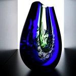 Ware kunst onderscheidt zich in meesterlijke kwaliteit van zowel de glasblazer als de slijper ...