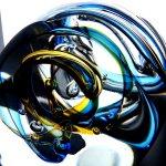 Het exclusieve glasobject hiernaast, met het prachtige 3D effect van de spiraalvormige kern ...