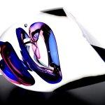 Modern kristallen glasobject - Ozzaro - liggend of staand te plaatsen - HxBxD 15x15x30 cm € 359,-
