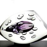 Modern glasdesign - kunstobject Ozzaro - geslepen eivormig glasobject 'Samen' - HxBxD 17x28x15 cm € 359,-