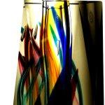 Een tijdloos abstract glaskunstwerk van Ozzaro glaskunst ...