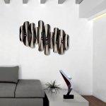 Moderne kunst voor wand en tafel in rvs, voor het strakke interieur ...