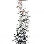 Kunstbeeld- 102203-Stickup 183x56x53 cm € 1695,-