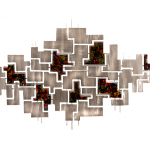 Abstracte kunst voor wand - C. Jeré by Artisan House - 320557 Pandemonium BxHxD 150x89x5 cm € 939,-