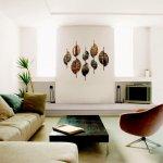 Exclusieve wandsculpturen met fantastische bewerkingen en prachtige natuurtinten creëren sfeer