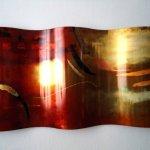 Ambachtelijke wandkunst, modern en exclusief kunstwerk van Artisan House - C. Jeré - 320499 Nadir - BxHxD 159x76x11 cm € 3929,-