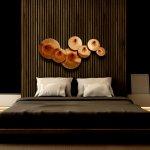 Wandsculptuur, modern en abstract, groot en exclusief met fantastisch 3D effect ... erg stijlvol voor strakke interieurs
