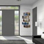 Het ambachtelijk wandobject is prachtig in elke ruimte van de woning ...