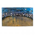 Ambachtelijke wandkunst handbeschilderd - Artisan House - Jeré - 320558 Cosmos BxHxD 119x71x5 cm € 1079,-