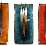 Kunstwerk voor de wand - C. Jeré by Artisan House  - 320881 Tryptich HxBxD elk 76x35x10 cm 3-delig € 929,-