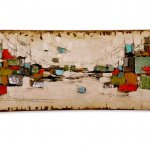 Exclusief wandobject 3D - C. Jeré by Artisan House - handbeschilderd - 320634 Dreamscape BxHxD 150x56x18 cm € 1699,-