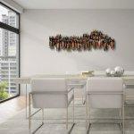 'Saamhorigheid' in warme middentonen in licht interieur, een mooie combinatie ...