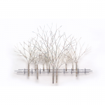 Wandobject - handbeschilderd - Artisan House - 210060 Winter Orchard BxHxD 137x104x10 cm € 699,-