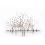 Wandobject - handbeschilderd - Artisan House - 210060 Winter Orchard BxHxD 137x104x10 cm € 699,-