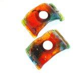 Glasobjecten Eratini - waxinelichthouders 10x20 cm € 29,95 per stuk - div. kleuren uit voorraad leverbaar