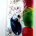 Glas en design voor de wand ... prachtig kleurgebruik in tijdloze vormgeving voor het moderne interieur