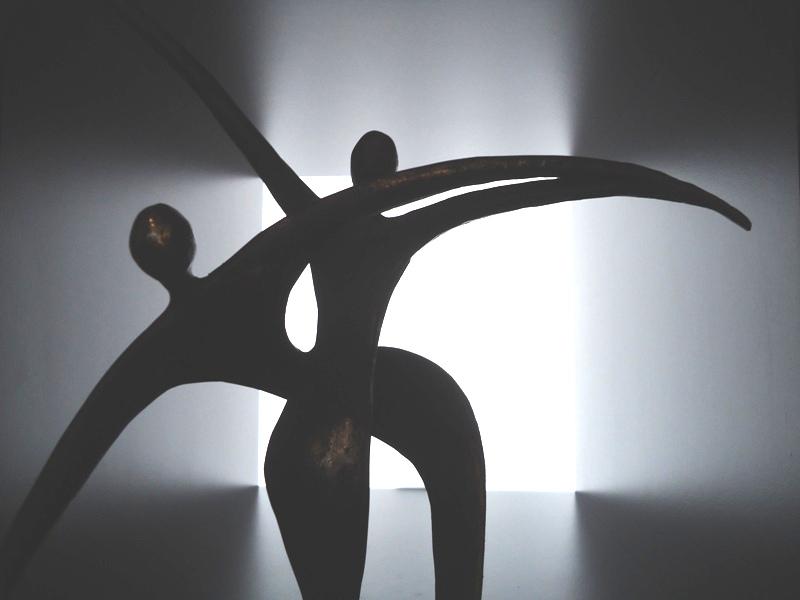 (duo-)-urnen glas-brons