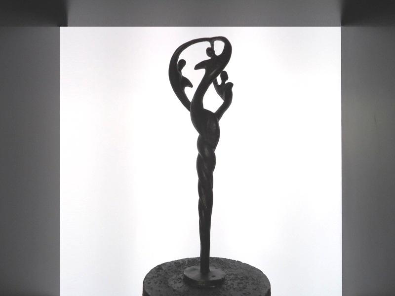 Kleine (duo-)urnen brons