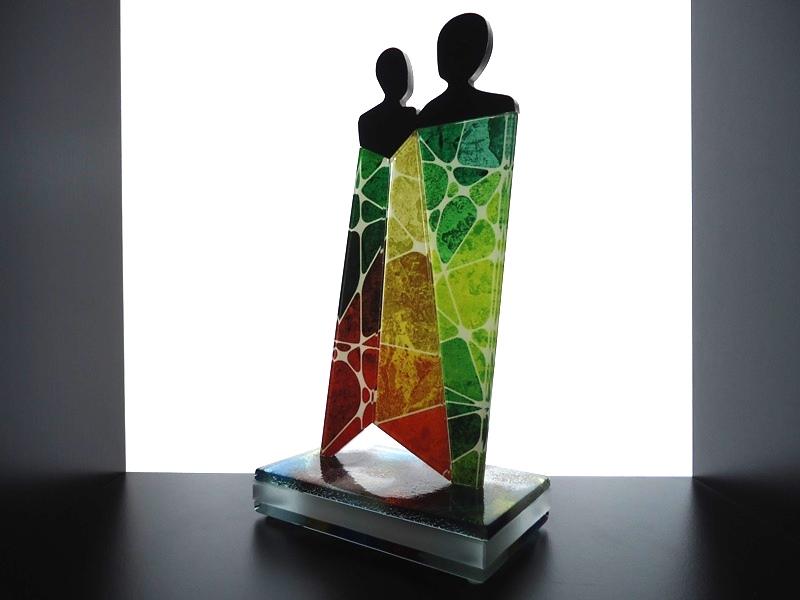 Glaskunst van Witold Sliwinski