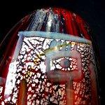 Glaskunstwerk met 'Ancient' kleurgebruik, ... oude culturen herleven in het unieke glas ..., een exclusief object