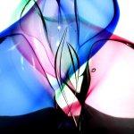 Glaskunst in pastels, die prachtig door elkaar heen vloeien ..., Boheems kristal met verrassende resultaten