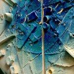 Moderne wandkunst - exclusief kunstwerk in keramiek met mooi reliëf en harmonieuze ton-sur-ton tinten