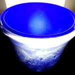 Glas, kunst en design ... tijdloze vaas voor het moderne en klassieke interieur, een waar pronkstuk ...